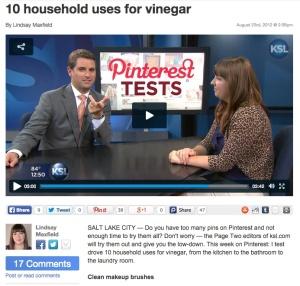 PinterestVinegar